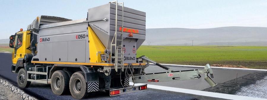 Мобильный бетонный завод BLEND E-050