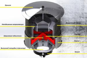 Фильтр предварительной очистки двигателя